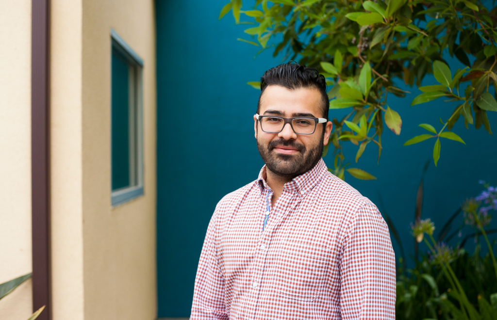 Sam Gonzalez oversees the hepatitis C specialty care clinic at St. John's Well Child & Family Center.