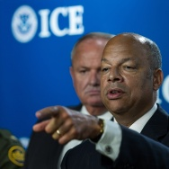 US-IMMIGRATION-ICE-JEH JOHNSON