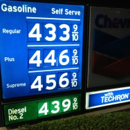 Newport Beach, CA gas prices March 8 2013