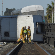 Slideshow: Metrolink train crash: Truck driver charged with