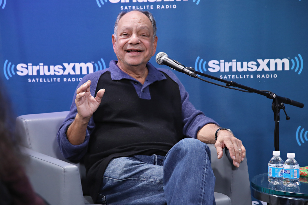 Cheech Marin discusses his new memoir at the SiriusXM