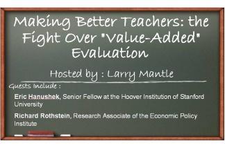 Making better teachers: the fight over