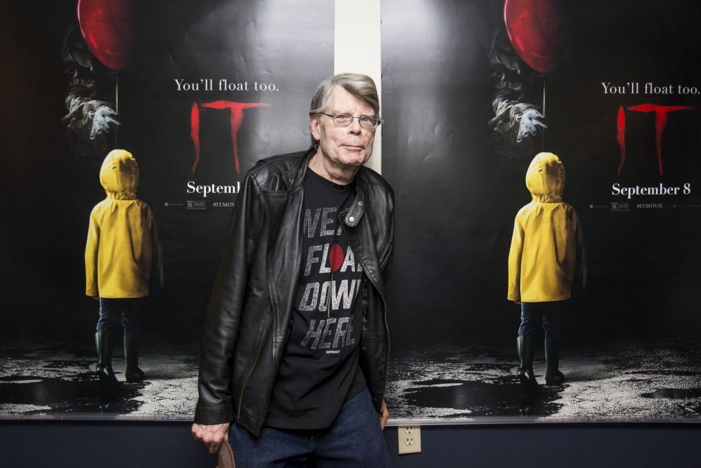 Stephen King talks about his involvement in 'It'