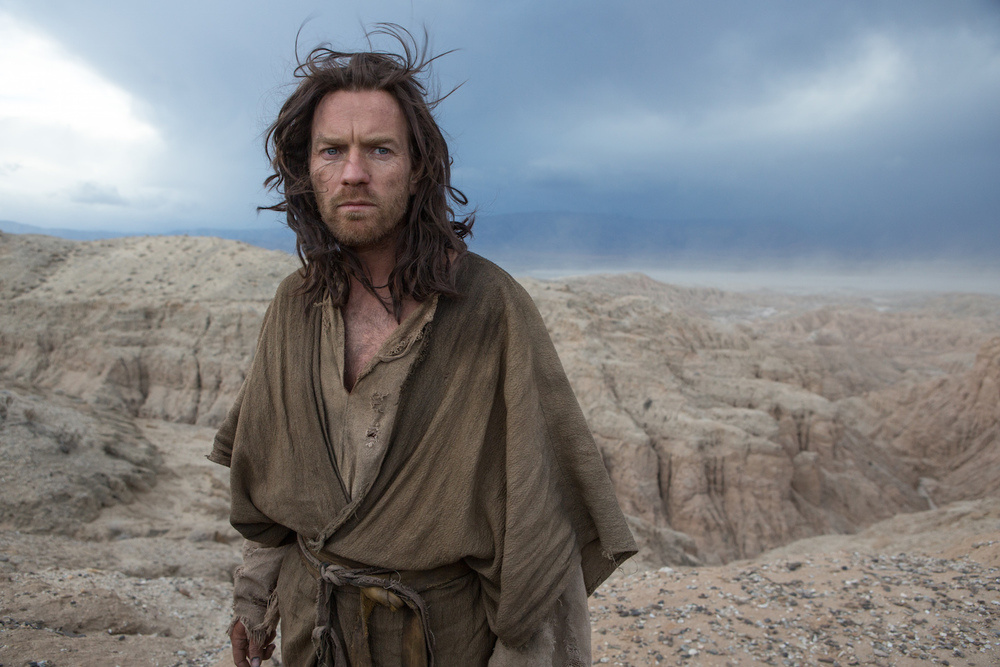 Ewan McGregor stars as both Jesus and Satan in the new film, 'Last Days in the Desert'