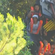 Six Flags Magic Mountain coaster derail