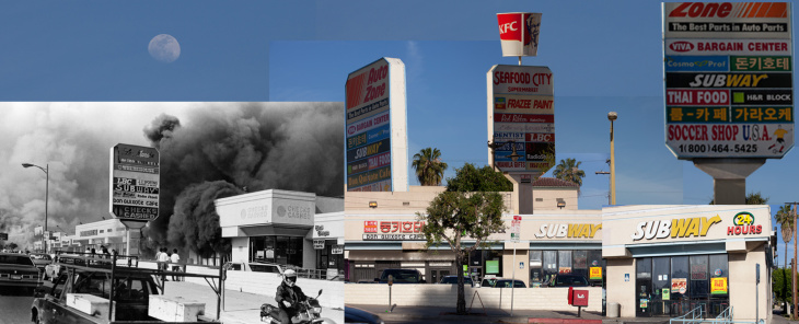 LA Riots Collages