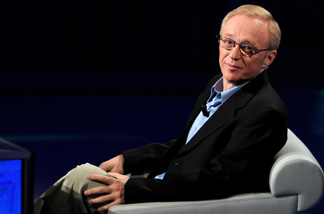 David Grossman, author and recent winner of the 2010 Frankfurt Book Fair Peace Prize.