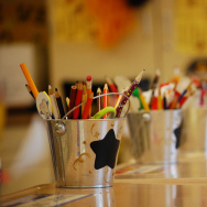 kindergarten school supplies art