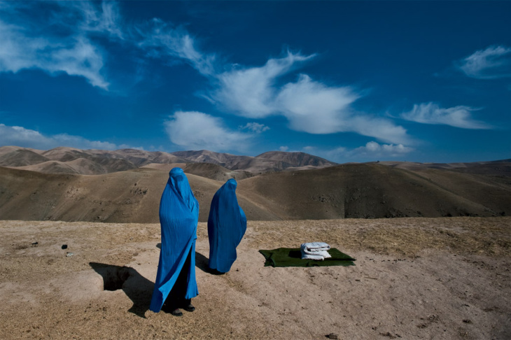 One of the images showcased at the Women of Vision exhibit by photographer Lynsey Addario