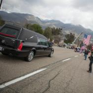 San Bernardino Sheriff's Funeral