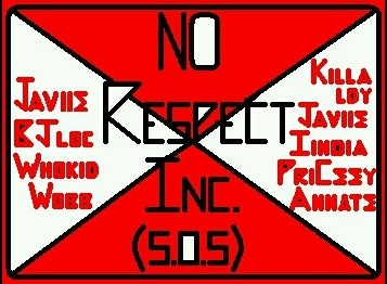 A screen shot taken from Bryan Barnes' Facebook shows a flyer for the No Respect Inc. party crew.