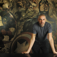 Axel Alonso is the Editor-in-Chief of Marvel Comics. His editorial team recruited Ta-Nehisi Coates to write the latest Black Panther series.