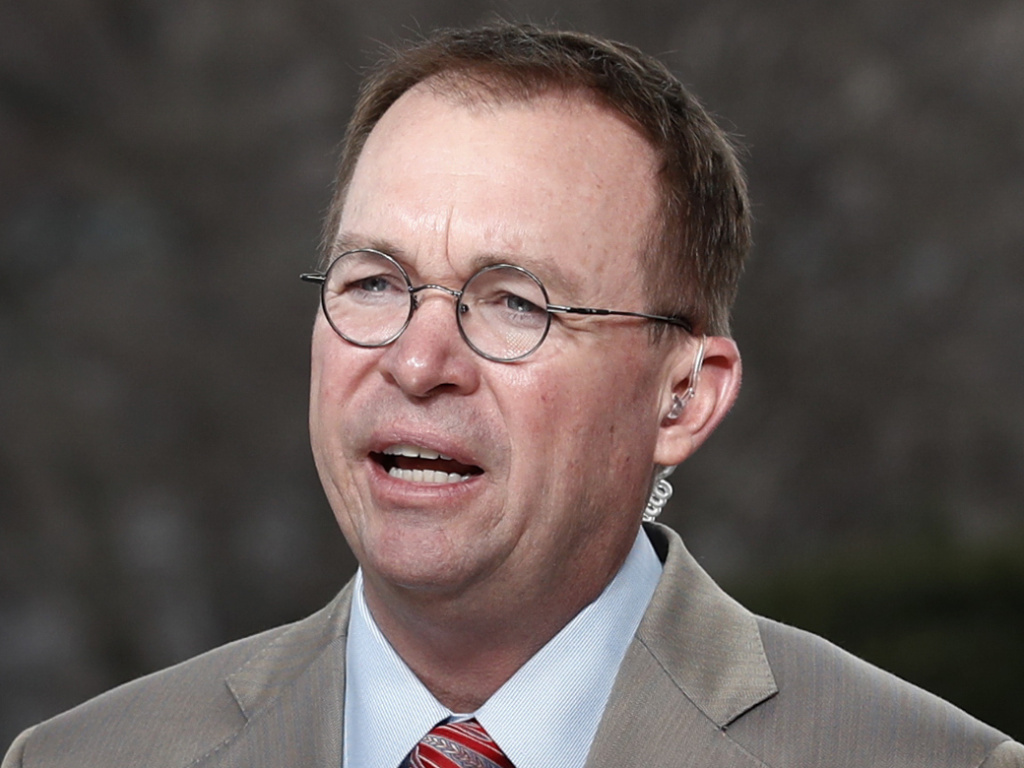 Office of Management and Budget Director Mick Mulvaney is also the interim director of the Consumer Financial Protection Bureau.