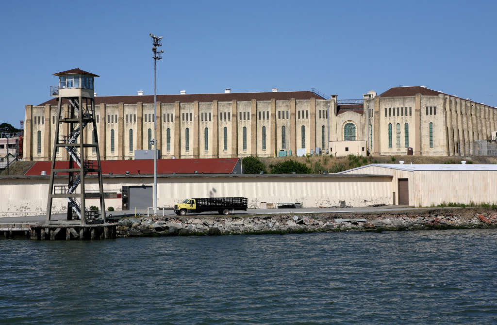 SAN QUENTIN, CA - MAY 15:  A view of the California State Prison at San Quentin May 15, 2009. San Quentin houses California's male death row. (Photo by Justin Sullivan/Getty Images)