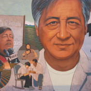 cesar chavez mural united farm workers ufw