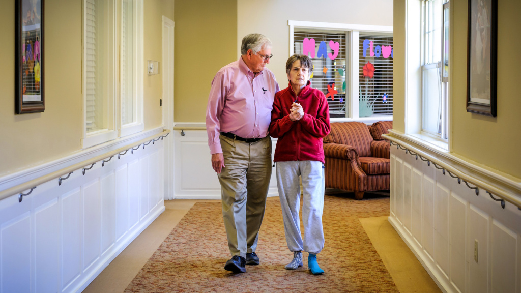 Nora Harris, who died in October after a battle with Alzheimer's disease, signed an advance directive stipulating no care to prolong her life. Her husband took the state of Oregon to court because she was spoon-fed against her wishes.