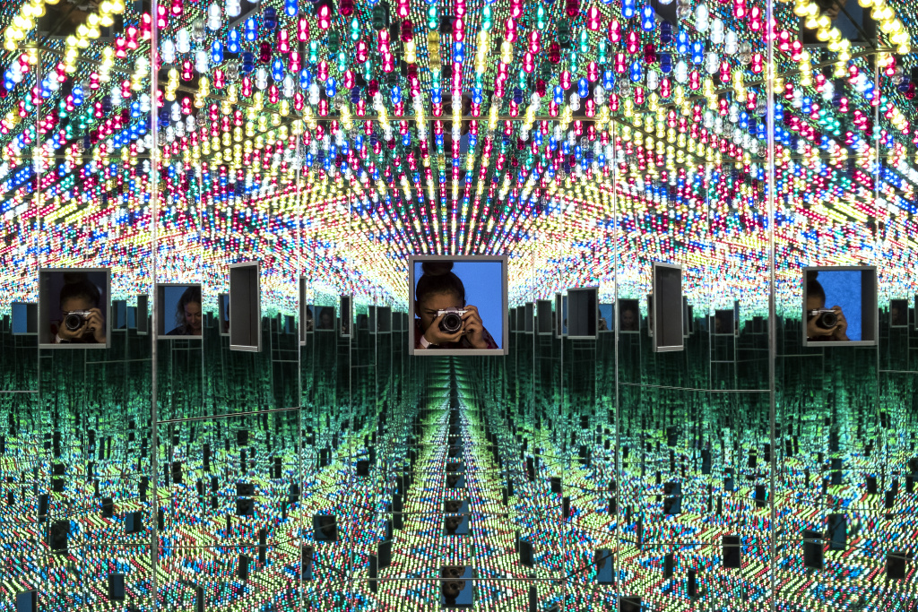The Broad estimates most visitors will spend about 90 minutes inside Yayoi Kusama's Infinity Mirrors, a special exhibition that opens on Saturday at the museum in Downtown Los Angeles.