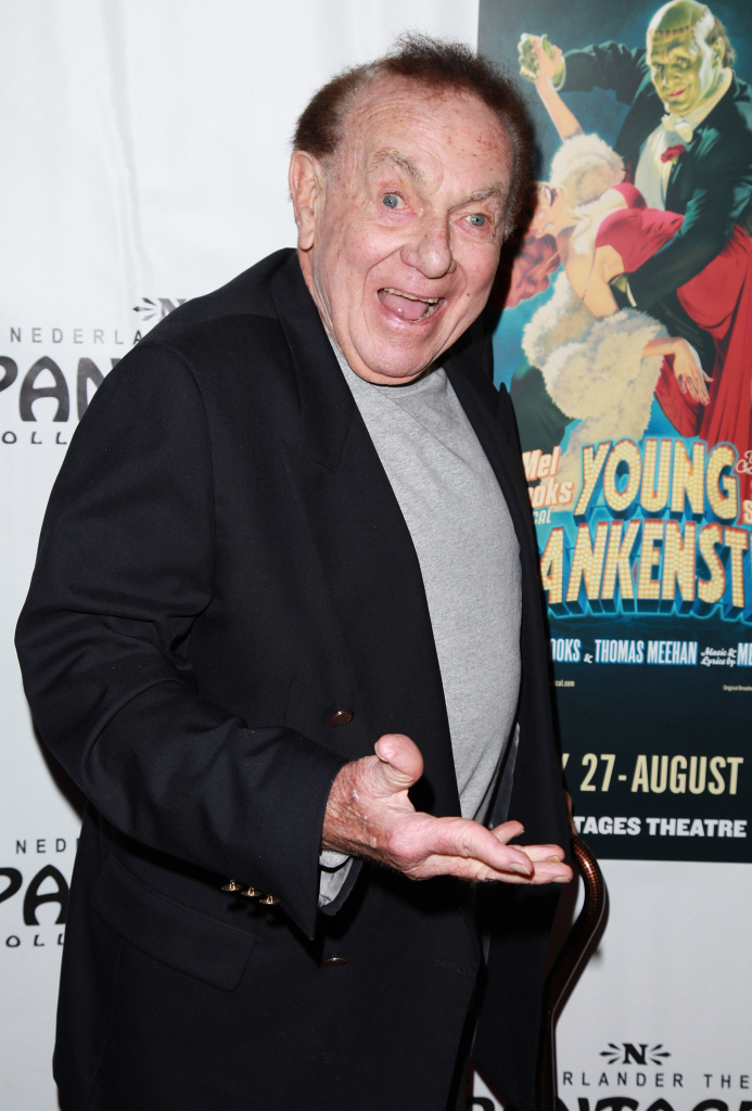 Comedian Jack Carter attending the opening night of