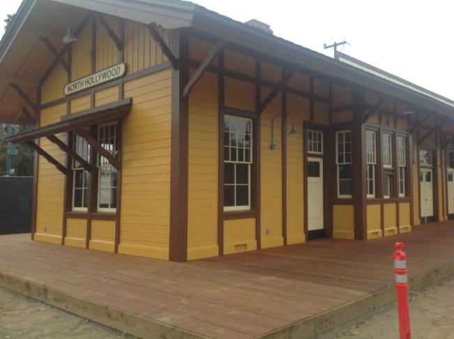 The Lankershim Depot in 1950.