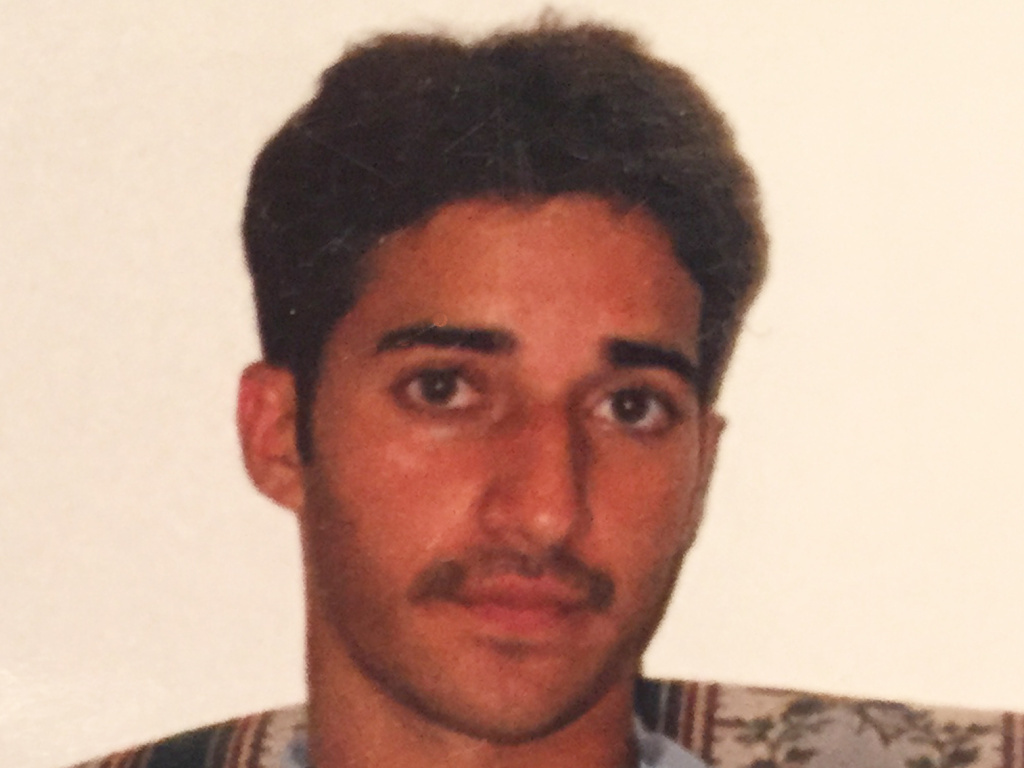 An undated photo provided by Yusuf Syed shows his brother, Adnan Syed.
