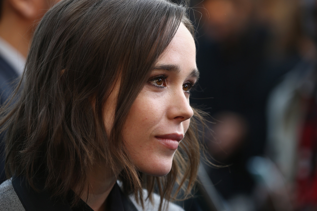 ZURICH, SWITZERLAND - SEPTEMBER 25:  Actress Ellen Page attends the 'Freeheld' Premiere during the Zurich Film Festival on September 25, 2015 in Zurich, Switzerland. The 11th Zurich Film Festival will take place from September 23 until October 4.  (Photo by Andreas Rentz/Getty Images)