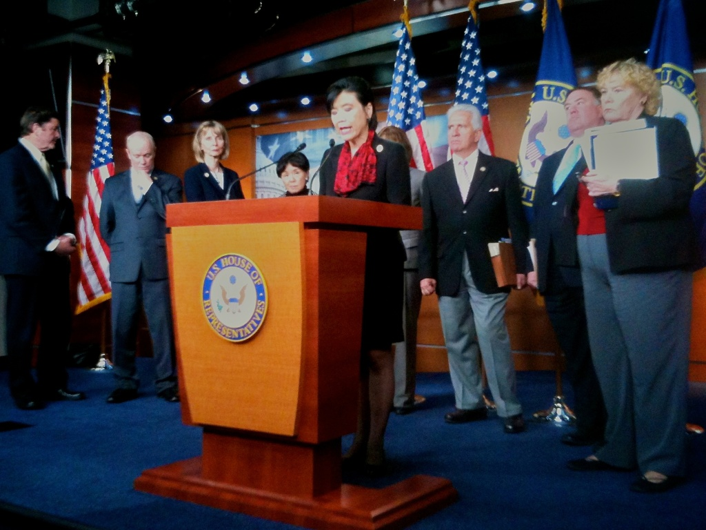 Congresswoman Judy Chu and California Democrats demand help for homeowners.