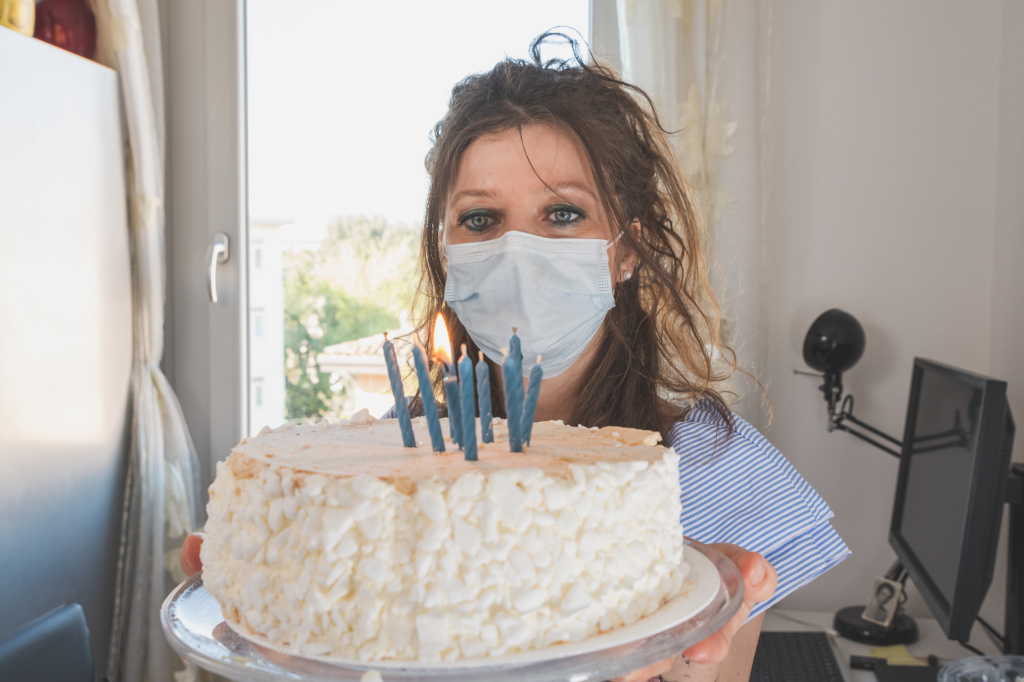 Birthday spoiler alert: If you want your mask to be a barrier to coronavirus transmission, you should not be able to blow out candles while wearing it.