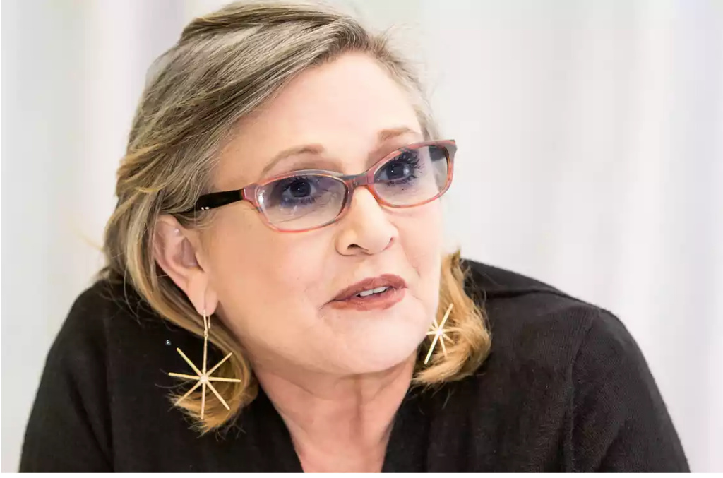 Carrie Fisher: 'I can't help you with your homework, but I can tell you what I did if I've had an experience like yours.' Photograph: Armando Gallo/Corbis