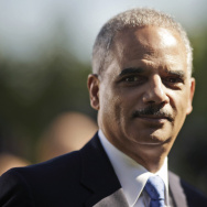 Attorney General Eric Holder presented yesterday the first national guidelines on school discipline. In this file photo from Oct. 2013 he attends the announcement of Jeh Johnson as the next Homeland Security Secretary.