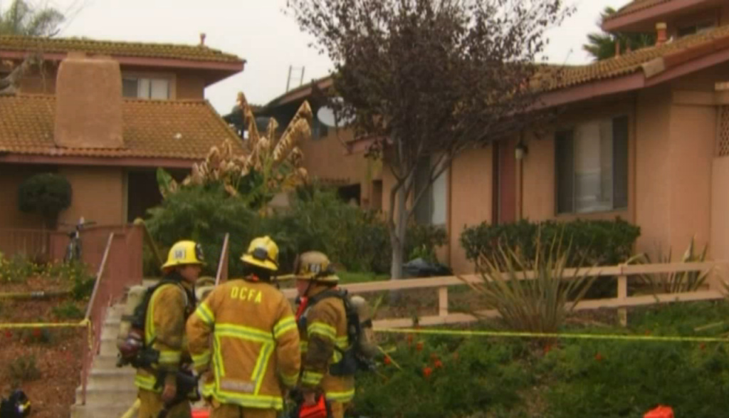 A three-year-old, who was among nine injured in a San Juan Capistrano condo fire, has died, according to Orange County Fire Authority's Steve Concialdi.