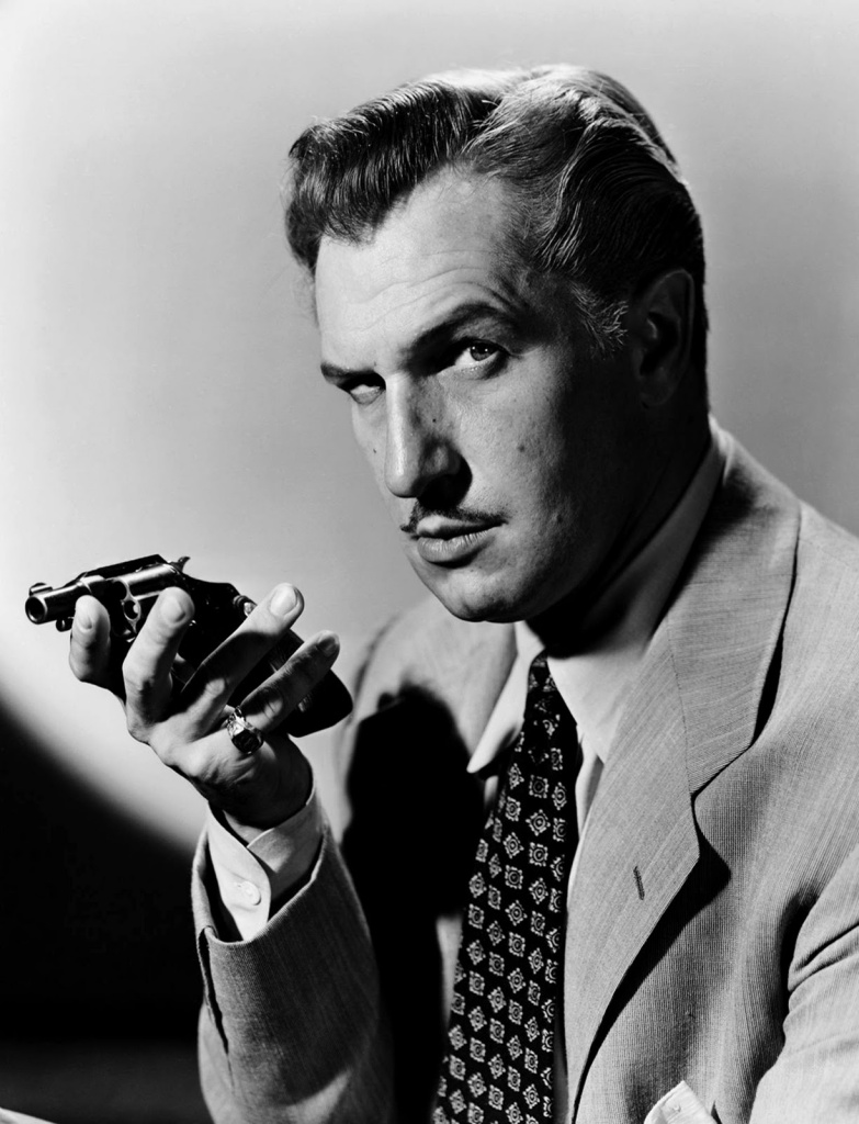 Vincent Price played