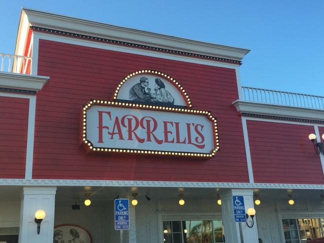 Farrell's rolls out its new logo, Buena Park, CA.