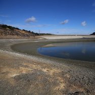 California Drought Dries Up Bay Area Reservoirs