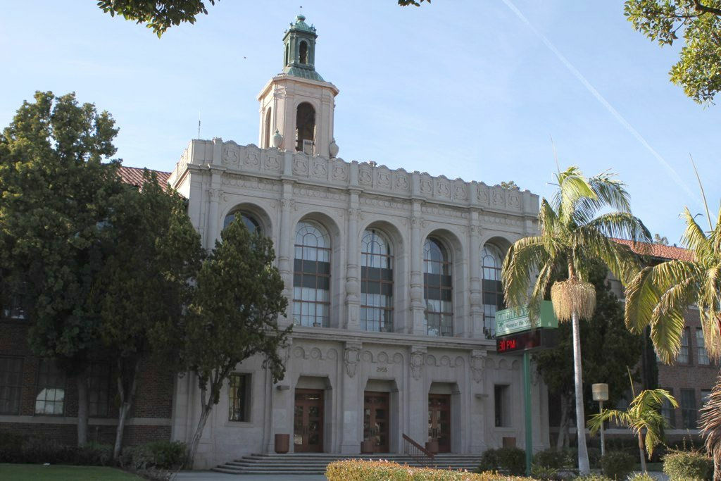 Hamilton High School in Los Angeles.