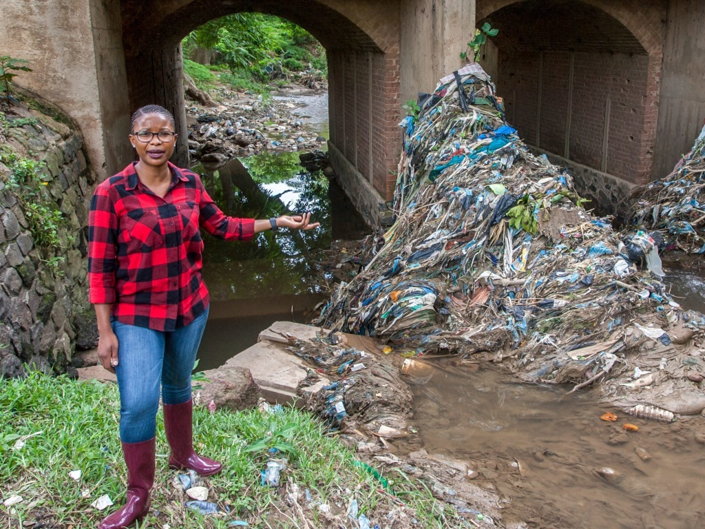 Gloria Majiga-Kamoto, an activist from Malawi, is one of six recipients of the 2021 Goldman Environmental Prize. Majiga-Kamoto has been instrumental in implementing Malawi's ban on thin plastics.