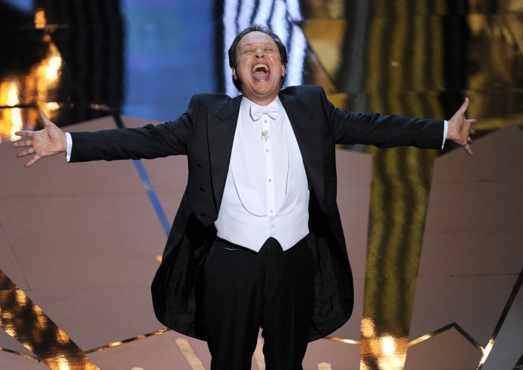 HOLLYWOOD, CA - FEBRUARY 26: Host Billy Crystal performs onstage during the 84th Annual Academy Awards held at the Hollywood & Highland Center on February 26, 2012 in Hollywood, California.