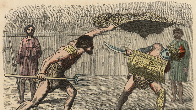 After a hard day of bruising battle, ancient gladiators reached for a post-workout drink, according to an ancient account. New research backs that up.