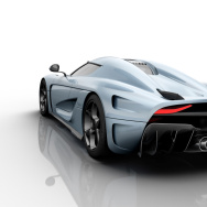 Sweden's Koenigsegg Regera features three electric motors and a 5.0 liter V8.  Add it all up and it equals 1500 horsepower.