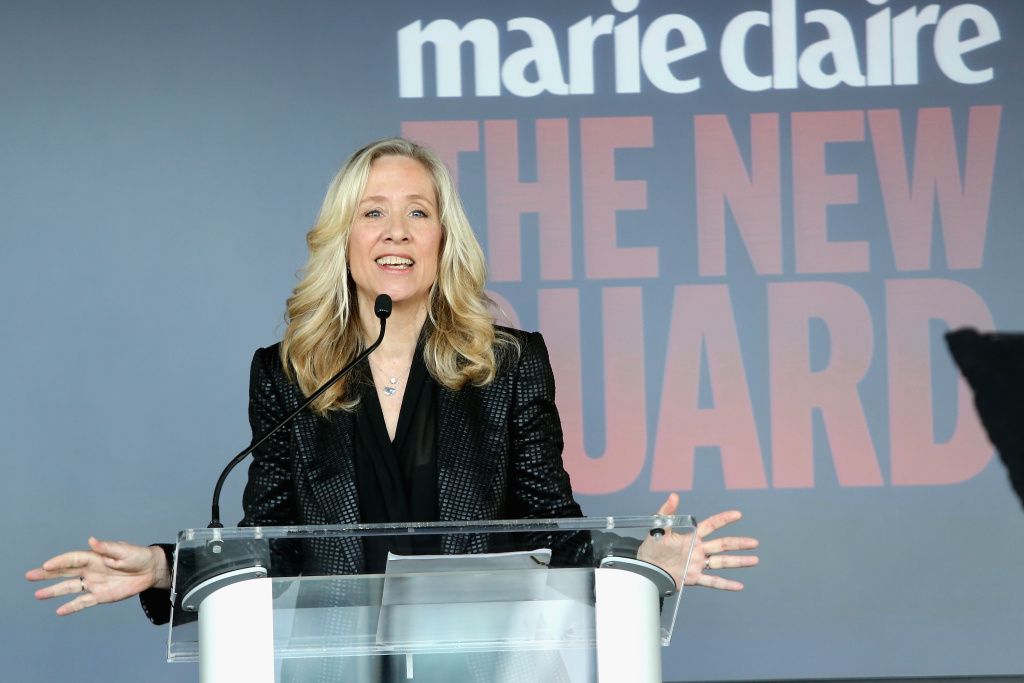 Betsy Beers, ShondaLand executive producer, at Marie Claire's 2014 New Guard lunch.