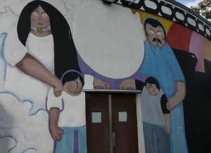 A mural at the Cento Cultural de La Raza in San Diego, June 2008.