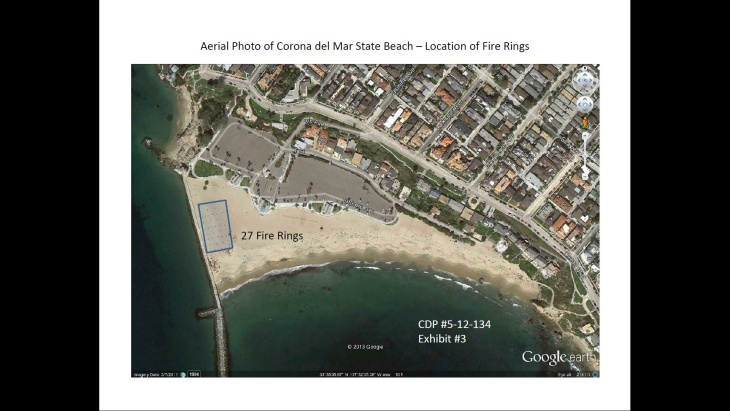 The California Coastal Commission's report recommends that the City of Newport Beach not remove the beach fire pits.