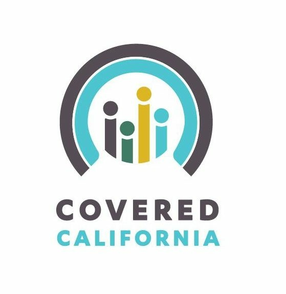 Covered California logo.