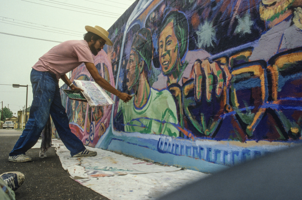 Take two audio the lost chicano mural that redefined for Mural meaning