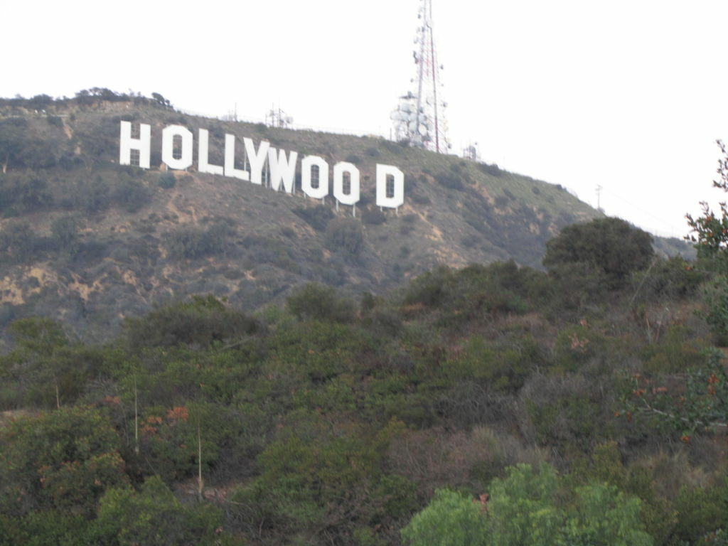 FILE: A view of the iconic Hollywood sign and Griffith Park.