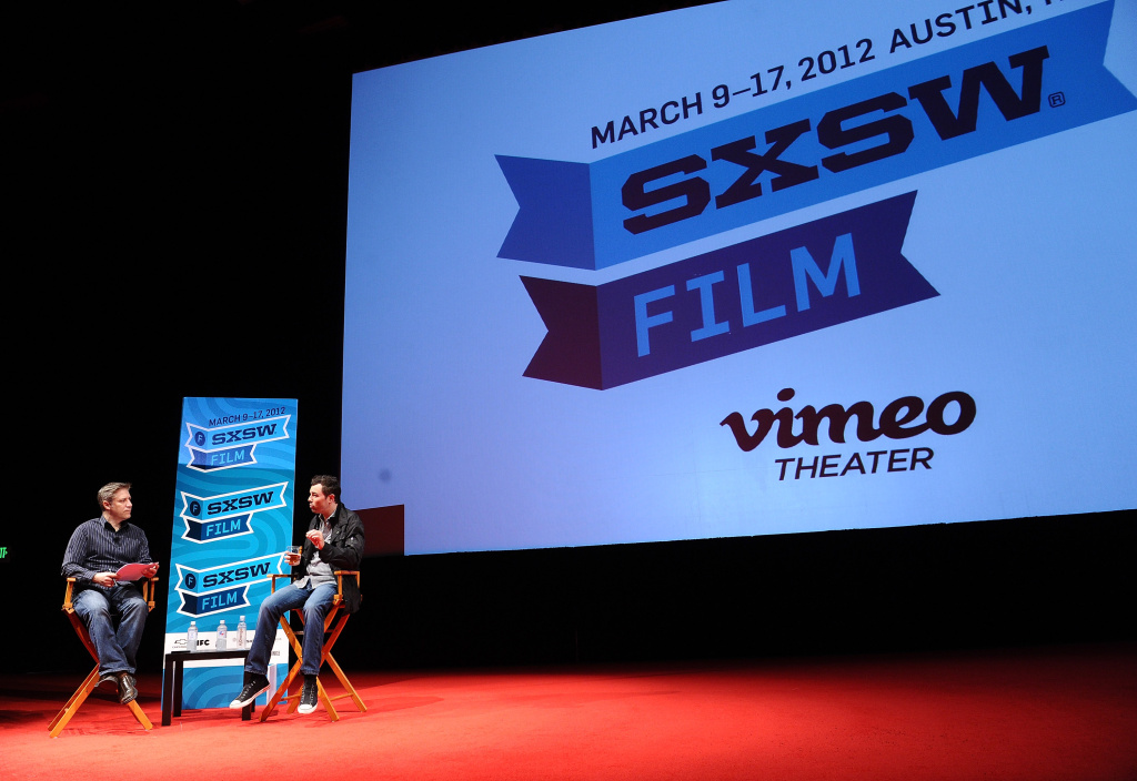 A panel at the 2012 SXSW Music, Film + Interactive Festival at Austin Convention Center on March 11, 2012 in Austin, Texas.