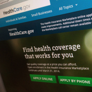 The HealthCare.gov website.