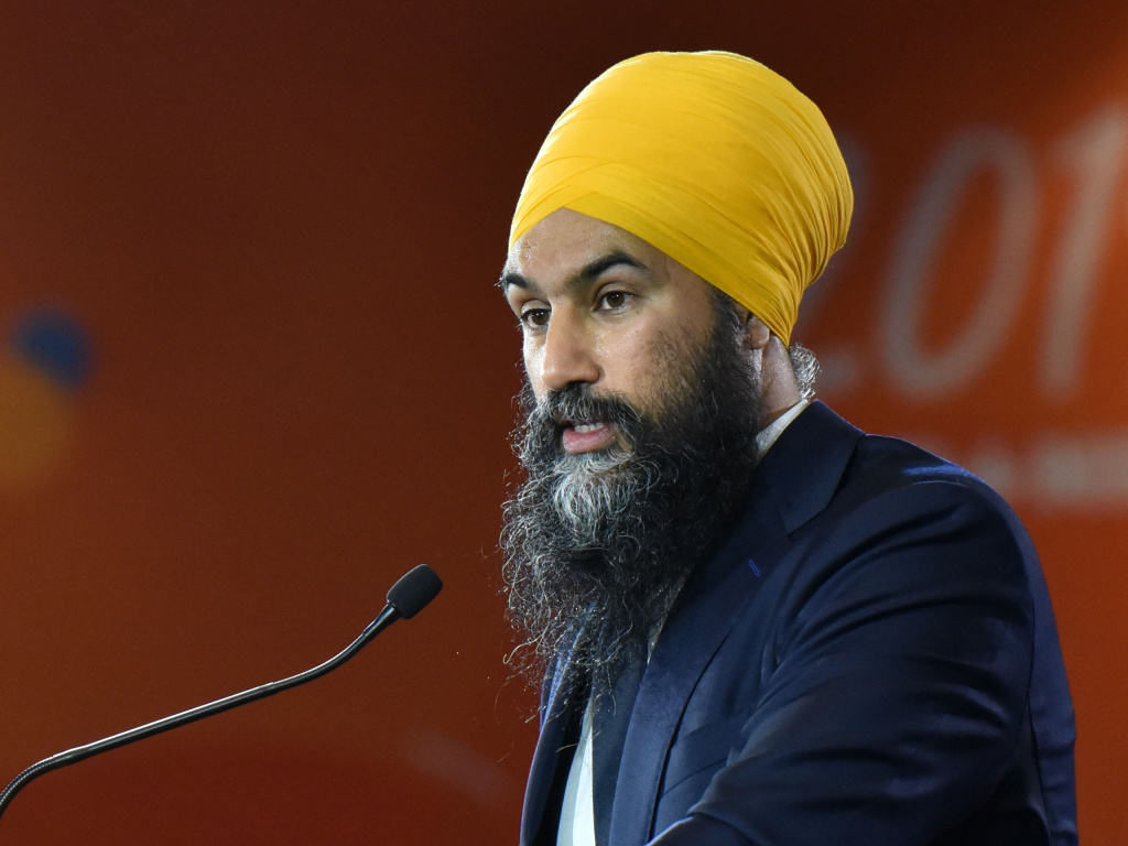 Jagmeet Singh, who heads the left-leaning New Democratic Party, was booted from the House of Commons for the day after calling Bloc Québécois politician Alain Therrien a racist on Wednesday. Therrien had opposed a motion to acknowledge systemic racism in the Royal Canadian Mounted Police.