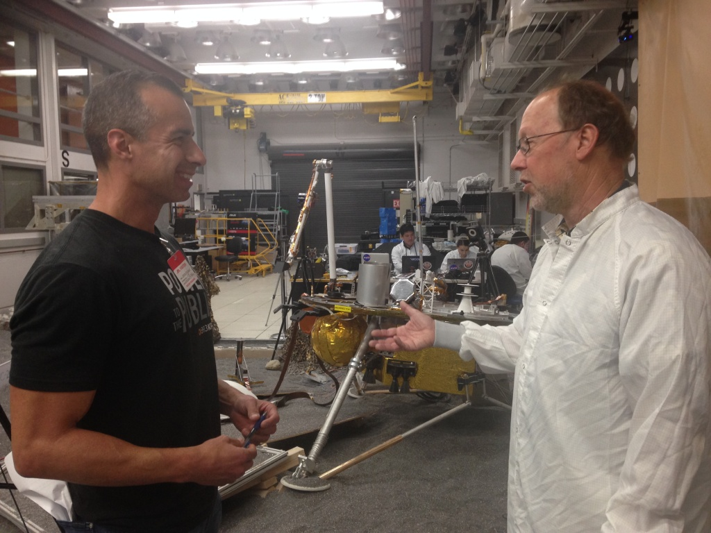 Take Two's A Martinez talks to Bruce Banerdt, principle investigator for the InSight mission, at the Jet Propulsion Lab.