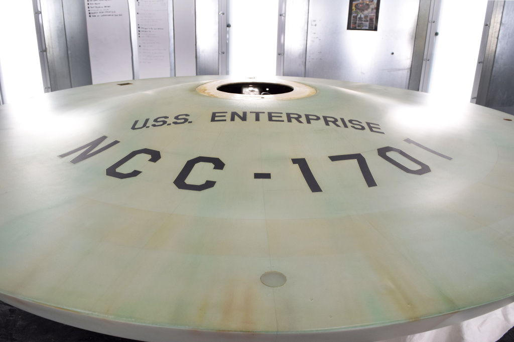 The original USS Enterprise model, from the classic