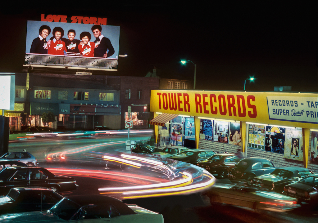 Tower Records on the Sunset Strip circa 1980.